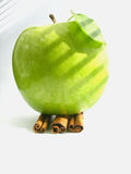 Apple et cannelle image stock