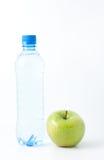 Apple et eau Image libre de droits