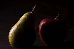 Apple et poires Images libres de droits