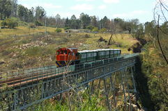 Apple Express On Van Stadens Bridge Royalty Free Stock Photography