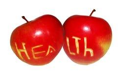 Apple för hälsa Arkivfoton