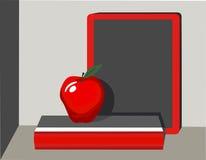 Apple für Lehrer Lizenzfreie Stockfotos