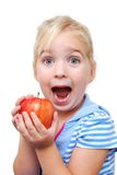 Apple Face Stock Photography