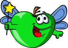 Apple fairy Stock Photo