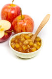 Apple filling Royalty Free Stock Images