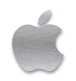 Apple-Firmenzeichen Stockfotos