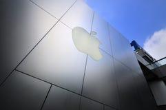 Apple-Flaggschiffspeicher lizenzfreie stockbilder