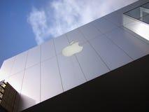 Apple-Flaggschiffspeicher lizenzfreies stockbild