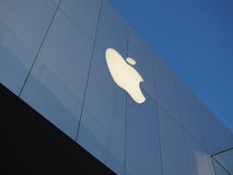 Apple flagship store. Located in the main entertainment district of Beijing-Sanlitun Royalty Free Stock Photos
