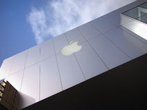 Apple flagship store Royalty Free Stock Image