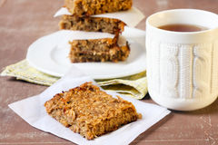 Apple flapjacks Stock Images