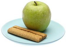 Apple Flavored Cereal Bar Stock Images