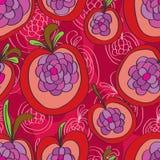 Apple flower seamless pattern Royalty Free Stock Photos