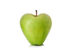 Apple a formé comme coeur Image libre de droits