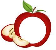 Apple-Foto-Rahmen Stockfotos