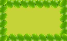 Apple frame vector illusttration Stock Photo