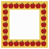 Apple frame Stock Images