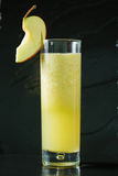 Apple fresh juice in glass Royalty Free Stock Photos