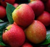 Apple. Fresh apple on the market Stock Image