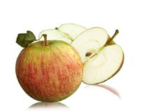 Apple frisch Lizenzfreie Stockbilder