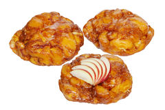 Apple Fritter Donuts Stock Photography