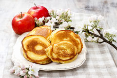 Apple fritters Royalty Free Stock Photos