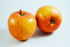 Apple fruit, Artificial fruit - It is counterfeit fruit 6 Royalty Free Stock Photography