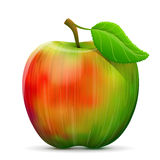 Apple fruit close up Stock Images