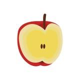 Apple fruit icon Stock Photos