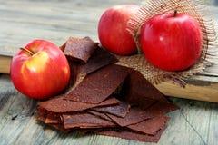 Apple paste. Royalty Free Stock Photo