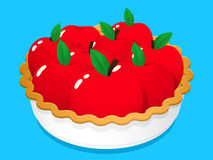 Apple Fruit Pie Royalty Free Stock Images