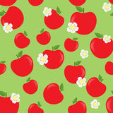 Apple fruit,seamless pattern background. Apple fruit,healthy food,seamless pattern vector background Royalty Free Stock Photo