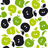 Apple fruit seamless pattern for fabric Stock Photography