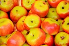 Apple fruit sweets background Stock Photo