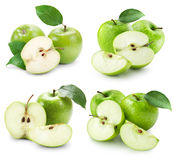 Apple fruits with leaf Stock Photography