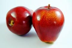 Apple frukt, konstgjord frukt - det är förfalskad frukt 2 Royaltyfria Foton