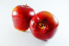 Apple frukt, konstgjord frukt - det är förfalskad frukt 16 Arkivbilder