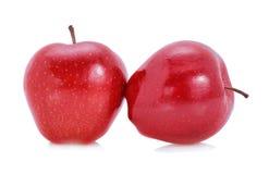 Apple frutifica vermelho Fotografia de Stock