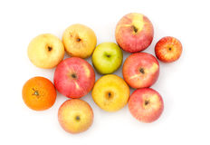 Apple fruttifica Immagine Stock Libera da Diritti