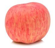 Apple fuji white background Royalty Free Stock Images