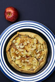 Apple Galette Crostata Cake Sweet Dessert Pie Royalty Free Stock Photos