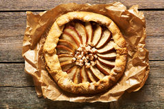 Apple galette Royalty Free Stock Photography