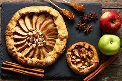 Apple galette Royalty Free Stock Photos
