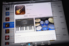 Apple GarageBand Photos libres de droits
