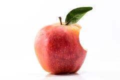 Apple gebissen Lizenzfreie Stockbilder