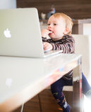 The apple generation Stock Photos