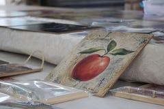 Apple gestalten Lizenzfreies Stockfoto