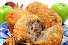 Apple-Gewürz-Muffin Stockfotos