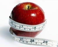 Apple-Gewichtbeobachter. Lizenzfreie Stockbilder