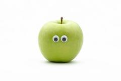 Apple-gezicht royalty-vrije stock afbeelding